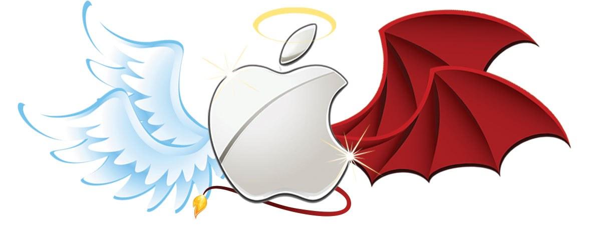Apple Good vs Evil