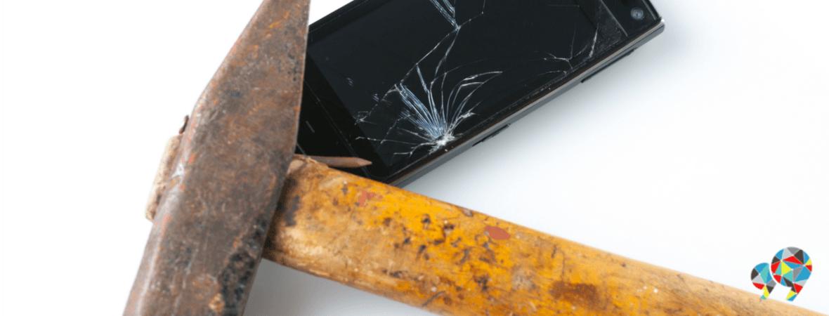 Smartphone hammer