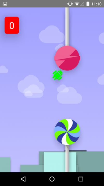 Android flappy Lollypop